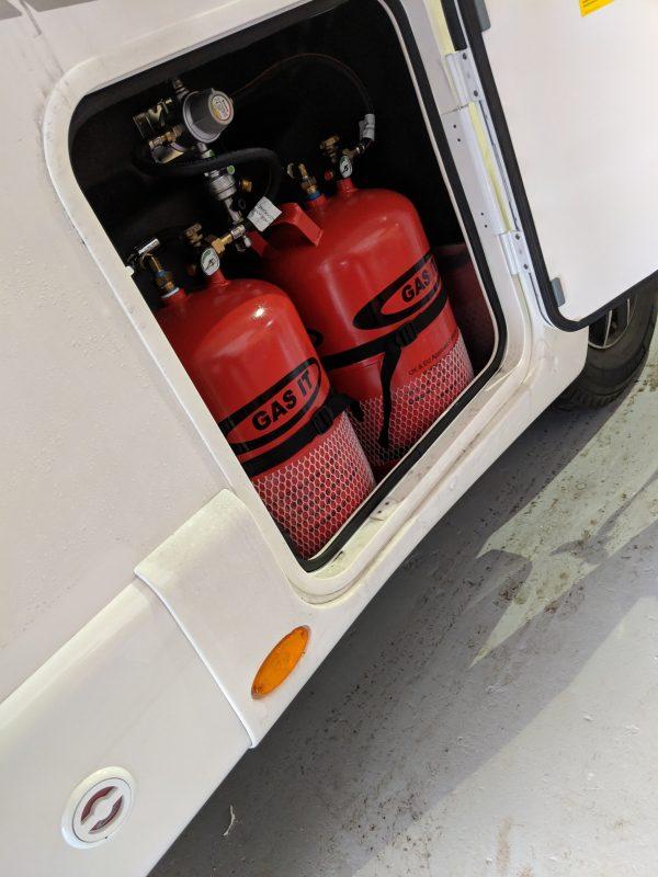 Set of 2 11kg LPG Refillable Cylinders