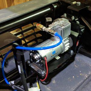 Motorhome Suspension Upgrades Fitting  SemiAir  FullAir