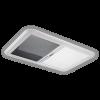 Dometic Heki skylight with blind half closed