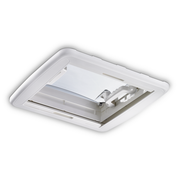 Dometic Heki Mini skylight as seen from below